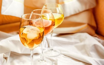 white wine, wine glasses, alcoholic drinks, feast, wine concepts