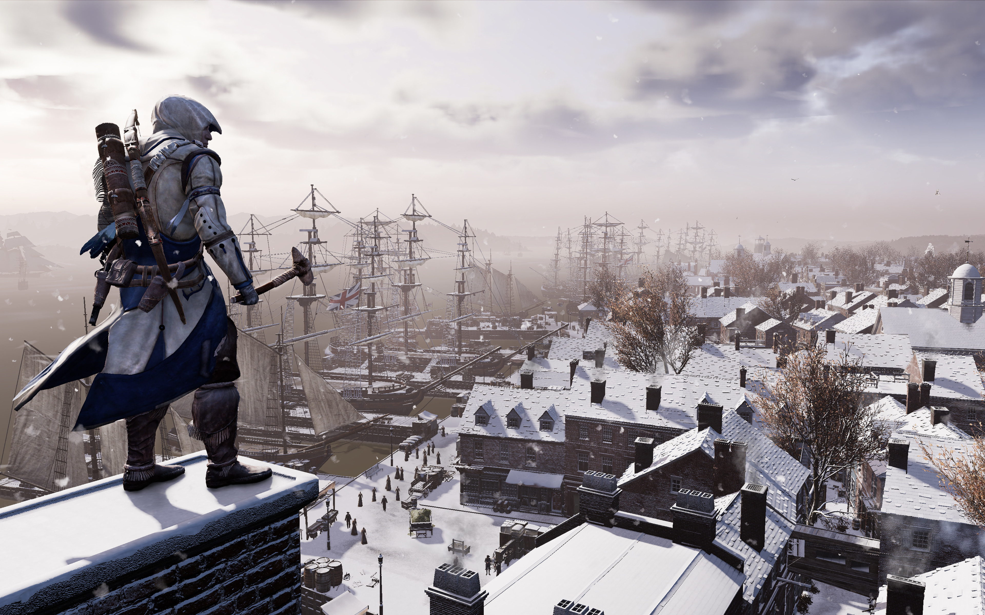 przeci assassins creed iii - HD 3840×2400