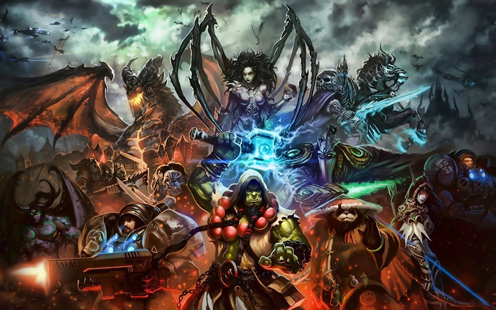 Download Wallpapers Wow Zeratul Thrall Characters Cast