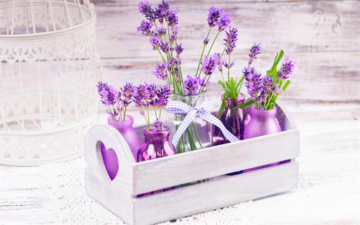 Herunterladen hintergrundbild lavendel blumen dekoration - Dekoration lavendel ...