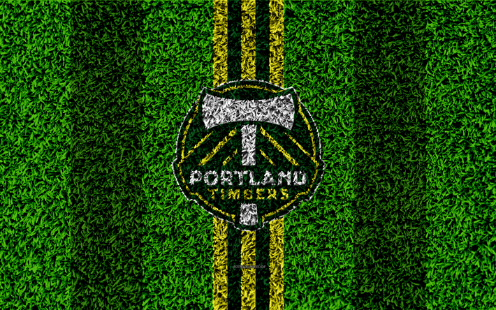 Portland Timbers 4k MLS Football Lawn Logo American Soccer Club