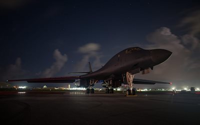 Rockwell B-1 Lancer, B-1B, supersonic strategic bomber, American military aircraft, US Air Force, USA
