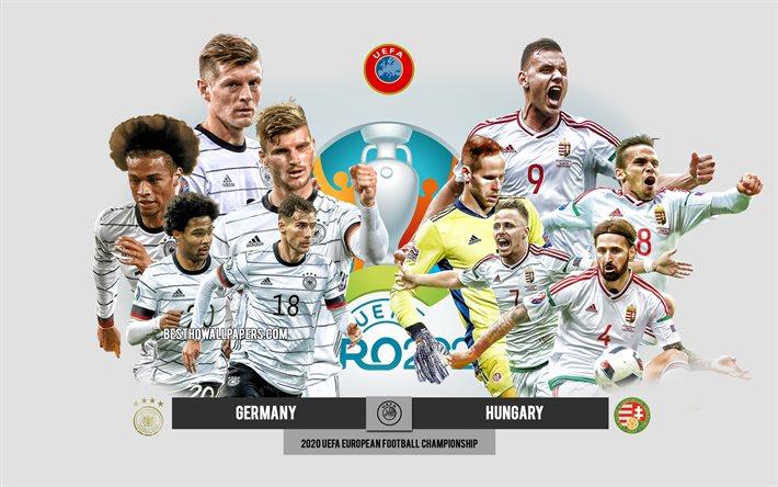 Nhận định bóng đá Đức vs Hungary, 2h00 ngày 24/6, VCK EURO 2020