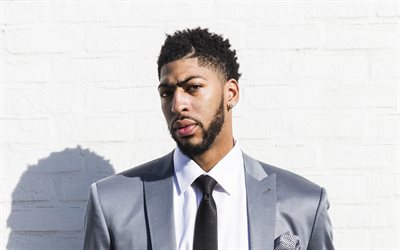 Anthony Davis, 4k, photoshoot, stars du basket-ball, les gars, la célébrité