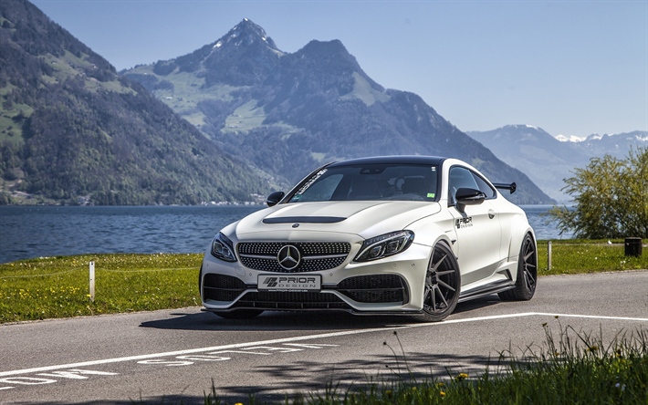 Mercedes C Class Coupe >> Lataa Kuva Mercedes Benz C Class Coupe Tie Tuning Ennen