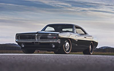 Ringbrothers, tuning, Dodge Charger Defector, 1969 cars, muscle cars, supercars, 1969 Dodge Charger, american cars, Dodge