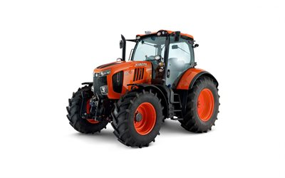 Kubota M7-171, tractor, agricultural machinery, tractor on a white background, modern tractor, Kubota