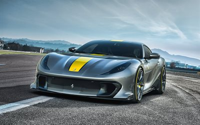 2021, Ferrari 812 Special Edition, 4k, front view, exterior, luxury supercar, 812 Special Edition, Italian sports cars, Ferrari