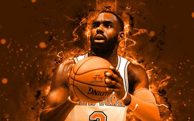 4k, Tim Hardaway Jr, de l'art abstrait, stars du basket-ball, NBA, Knicks de New York, new york Knicks, Abstrait, le basket-ball
