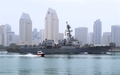 USS Kidd, DDG-100, American destroyer, Arleigh Burke-class, US Navy, American warship, United States Navy
