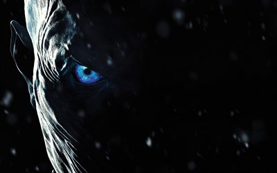 Game Of Thrones, 2017, Season 7, Poster, promo, new movies, White Walkers