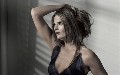 Stana Katic, l'actrice Canadienne, portrait, belle femme