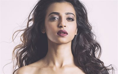 Radhika Apte, 4k, Bollywood, 2018, photoshoot, attrice indiana, bellezza, brunetta