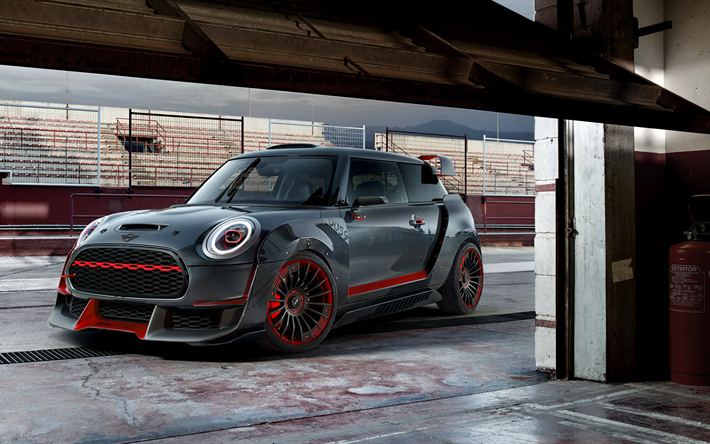 Scarica sfondi 4k mini john cooper works gp concetto for Garage mini cooper annemasse