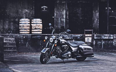 2019, Indian Springfield Dark Horse, Jack Daniels Limited Edition, exterior, luxury motorcycle, american motorcycles, Indian