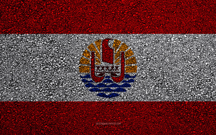 Download Wallpapers Flag Of French Polynesia Asphalt Texture Flag On Asphalt French Polynesia Flag Oceania French Polynesia Flags Of Oceania Countries For Desktop Free Pictures For Desktop Free