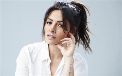 Sarah Shahi, american actress, portrait, photoshoot, american fashion model