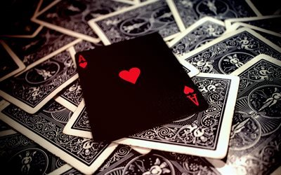 poker, playing cards, ace, ace of hearts, casino
