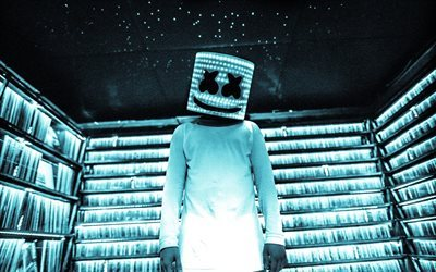 Marshmello, DJ, night club, progressive house