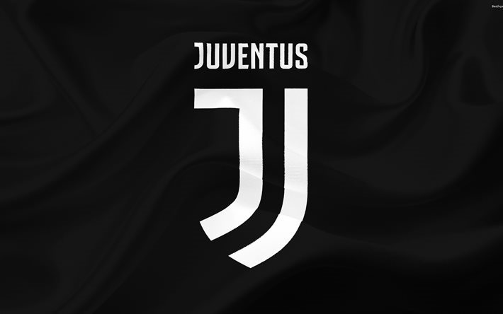 Download wallpapers Juventus new logo, 2017, Italy, 4k ...