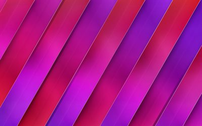 Purple Pink abstraction, geometric background, line, metallic texture