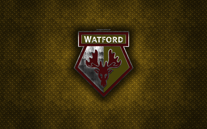 Download Wallpapers Watford FC, English Football Club