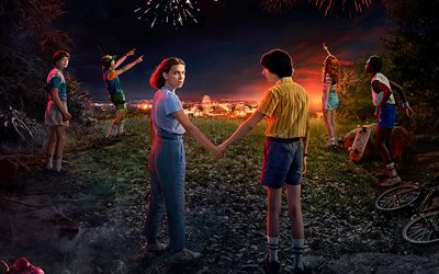 Stranger Things, poster, Season 3, 2019 movie, TV Series, 2019 Stranger Things