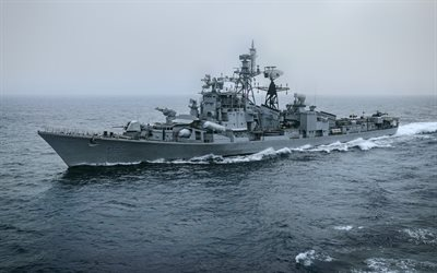 INS Ranjivey, D55, Indian Navy, guided-missile destroyer, Rajput-class destroyer, Indian warship