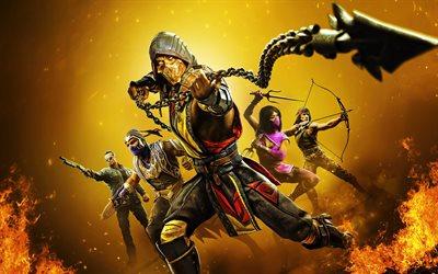 Download wallpapers Mortal Kombat 11 Ultimate, characters ...