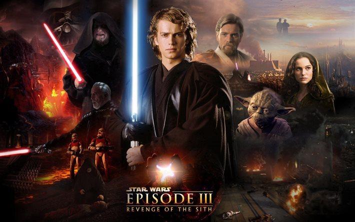 Download Wallpapers Star Wars Episode Iii Revenge Of The Sith Obi Wan Kenobi Padme Amidala Lightsaber Joda Count Duku For Desktop Free Pictures For Desktop Free