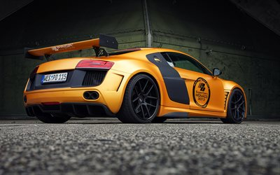 Prima Design, tuning, Audi R8, supercar, PDGT850, golden R8, BMW