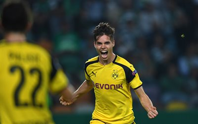 Julian Weigl, Borussia Dortmund, German footballer, Germany, Bundesliga, football