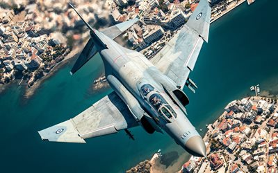 McDonnell Douglas F-4 Phantom II, Greek military aircraft, F-4, fighter bomber, Greek Air Force, Hellenic Air Force, Greece