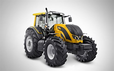 Valtra BH, 2020, modern tractor, new yellow Valtra BH, agricultural machinery, tractors, Valtra