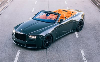 4k, Rolls-Royce Dawn Overdose, 2017 cars, Spofec, tuning, luxury cars, Rolls-Royce