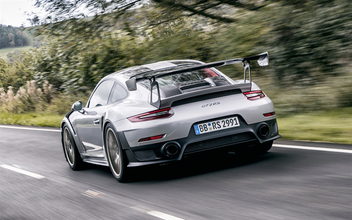 download wallpapers porsche 991 gt2 rs 2018 gray sports