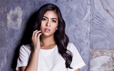 Gabbi Garcia, filipino actress, beauty, brunette, beautiful girls