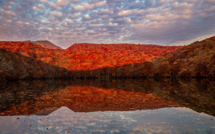 foto de Télécharger fonds d'écran paysage d'automne coucher de