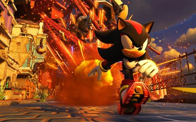 Sonic, 4k, 2017 games, Sonic the Hedgehog, action-adventure, Sonic Forces