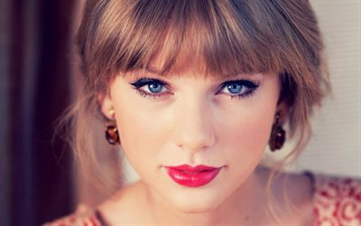 Taylor Swift, american singer, portrait, beautiful blue eyes, photoshoot, makeup, country singer