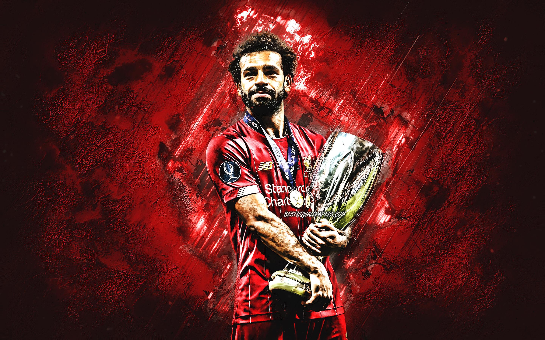 Download Wallpapers Mohamed Salah, Egyptian Soccer Player