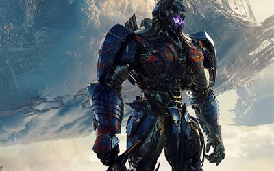 Transformers 5, The Last Knight, 2017, Optimus Prime, Autobot Leader