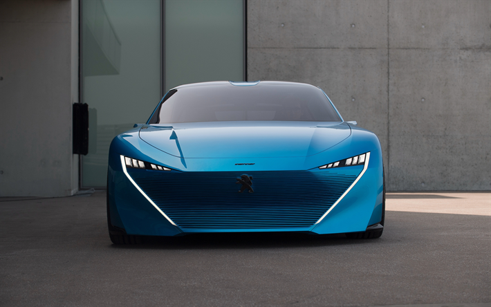 Download wallpapers 4k, Peugeot Instinct, 2018 cars, concept cars ...