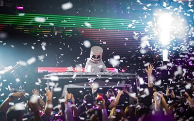 Marshmello, conciertos, DJ, progressive house, en vivo
