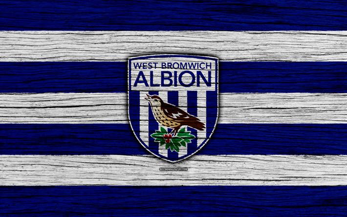 Download Wallpapers West Bromwich Albion, 4k, Premier