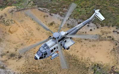 H225M, Airbus Helicopters, military transport helicopter, Eurocopter EC725 Caracal