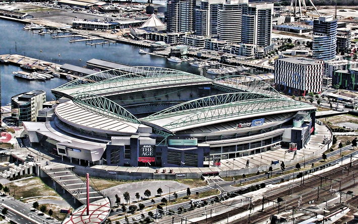 Descargar Fondos De Pantalla Docklands Stadium Marvel