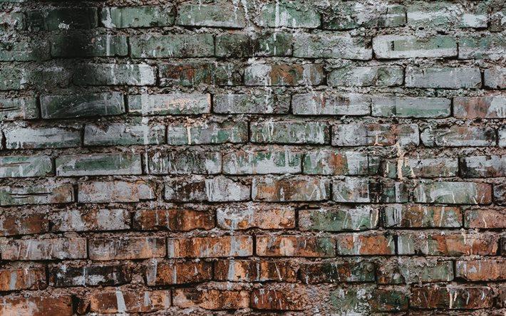 Download Wallpapers Old Brick Wall Grunge Brick Background Brick Wall Texture Grunge Backgrounds Brickwork Texture For Desktop Free Pictures For Desktop Free