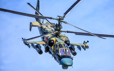 Ka-50, russian military helicopter, Hokum A, Kamov Ka-50, Russian Air Force, Kamov Helicopters, Russian Army
