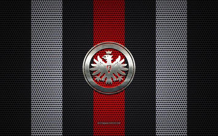 Herunterladen Hintergrundbild Eintracht Frankfurt Logo English Football Club Metall Emblem Schwarzen Und Weissen Metall Mesh Hintergrund Eintracht Frankfurt Bundesliga Frankfurt Deutschland Fussball Fur Desktop Kostenlos Hintergrundbilder Fur